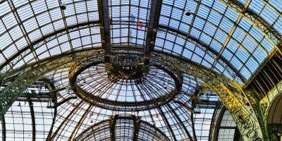La sublime verrière du Grand Palais, l'une des choses à faire dans le 8 ème arrondissement de Paris