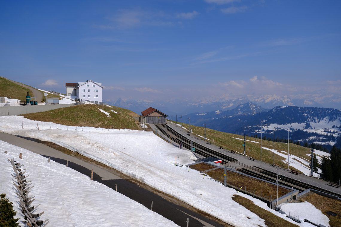 Le terminus du premier train de montagne d'Europe