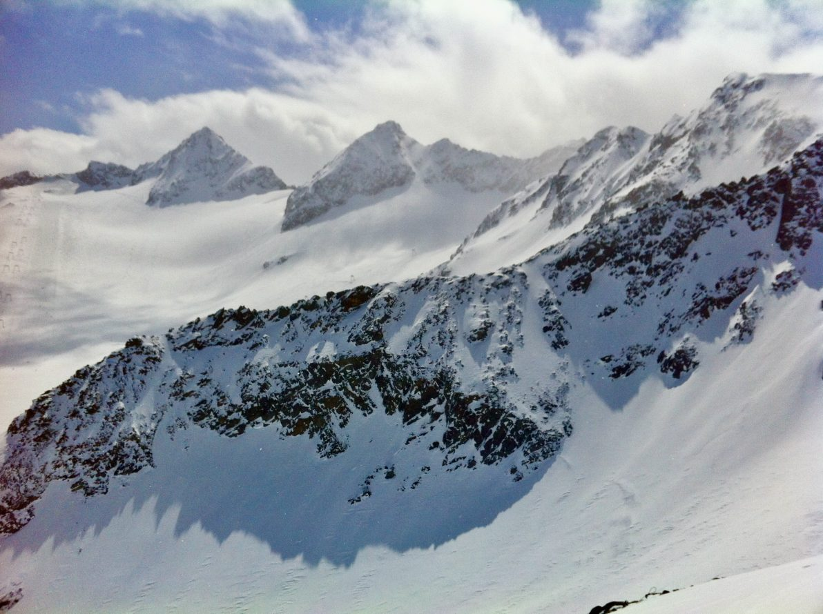 Les montagnes du Tyrol en Autriche