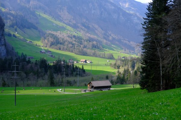 Les paysages aux alentours d'Engelberg