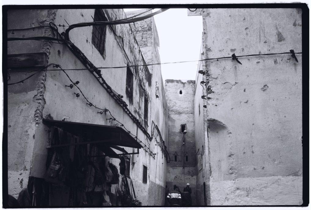 Les rues étroites de la Médina de Fès