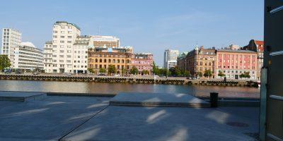 Malmö en plein été scandinave