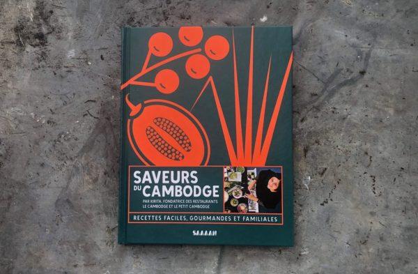 Saveurs du Cambodge, le livre de recettes de Kirita