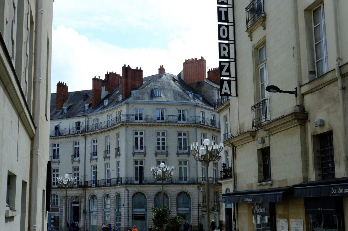 Une entrevue avec la place Graslin lors d'une escale à Nantes