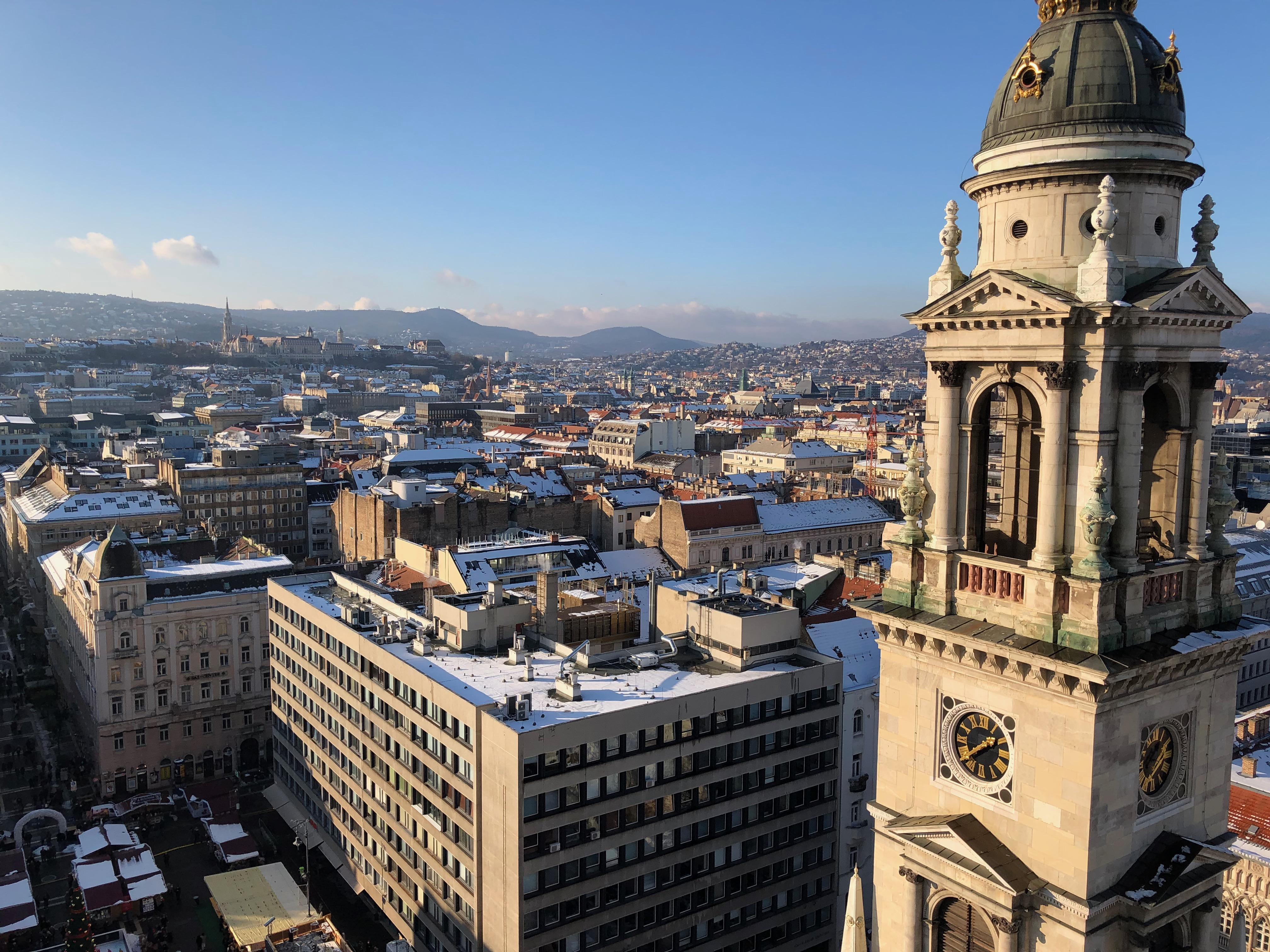 Une vue imprenable depuis la Basilique Saint-Etienne
