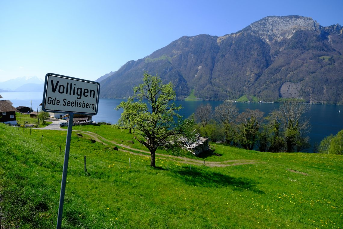 Vollingen un tout petit village suisse au bout d'une impasse
