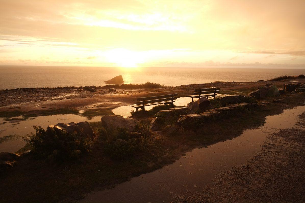 Deux bancs face à la Manche, Cap Fréhel