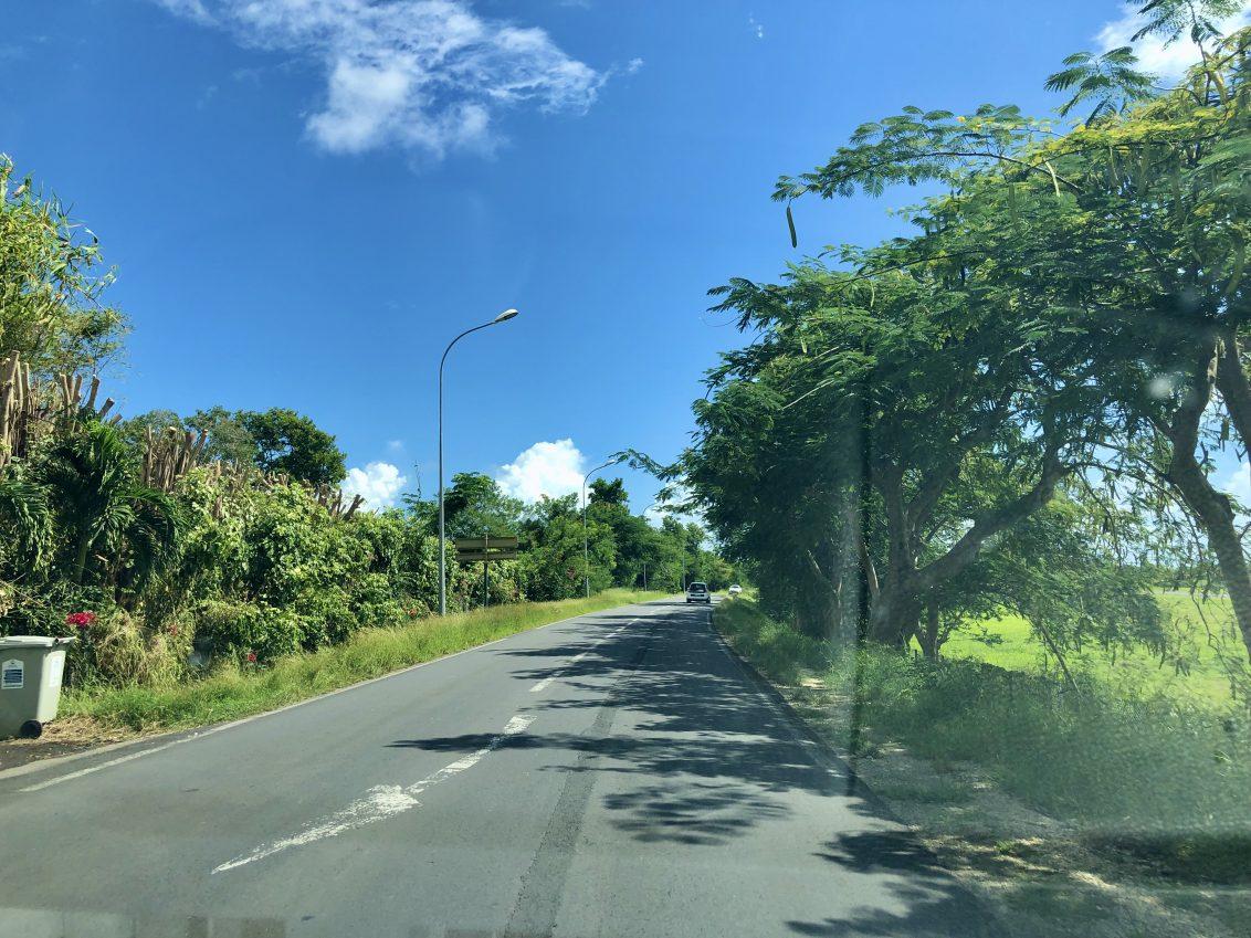 En route vers la plus belle vue de Guadeloupe