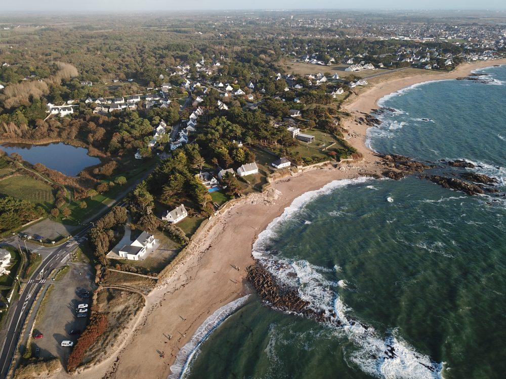 La plage Belmont entre la Turballe et Piriac sur mer