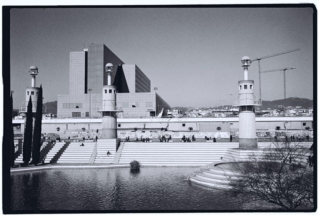 L'architecture futuriste en friche de Barcelone