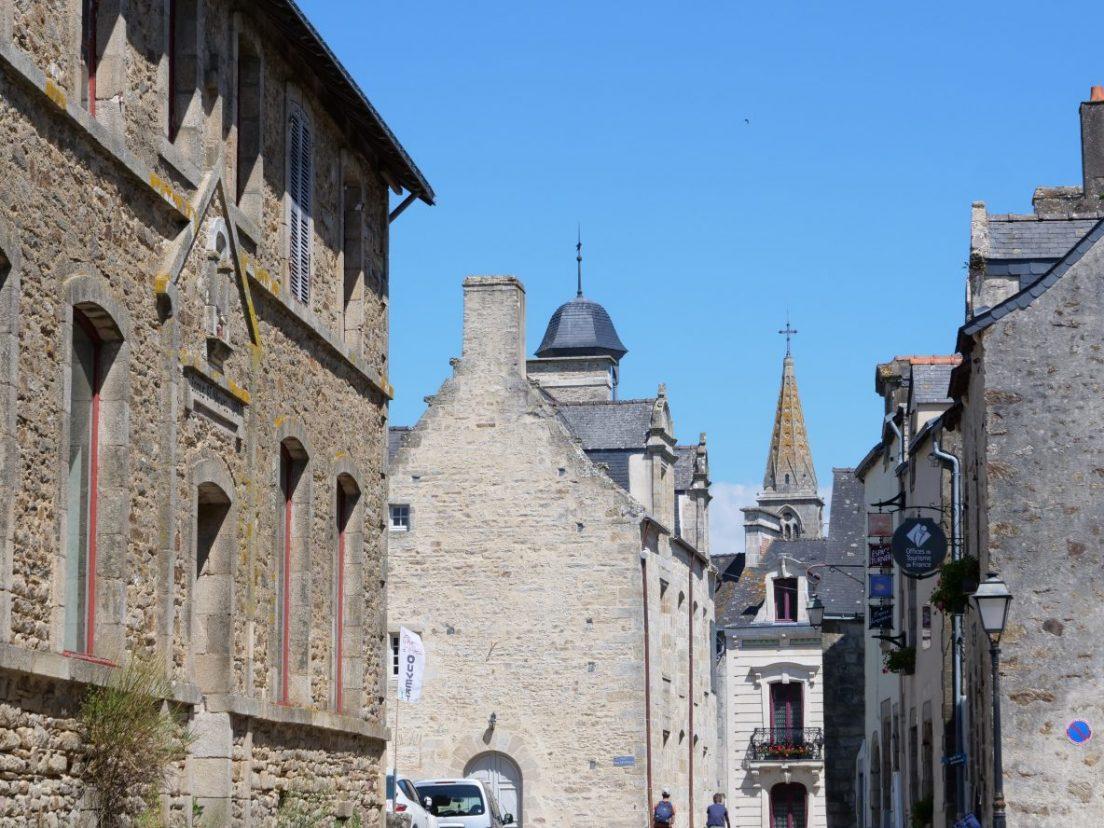 Le centre ville historique de la Roche-Bernard