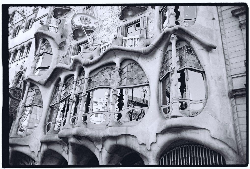 Le déconstructivisme de Gaudi à Barcelone, la casa Batllo