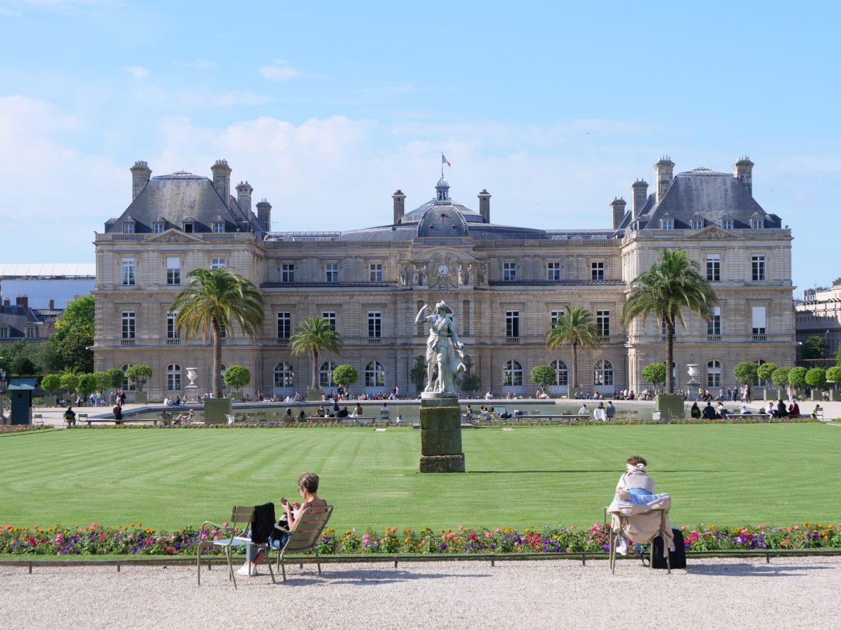 Le palais du Luxembourg occupé aujourd'hui par le Sénat