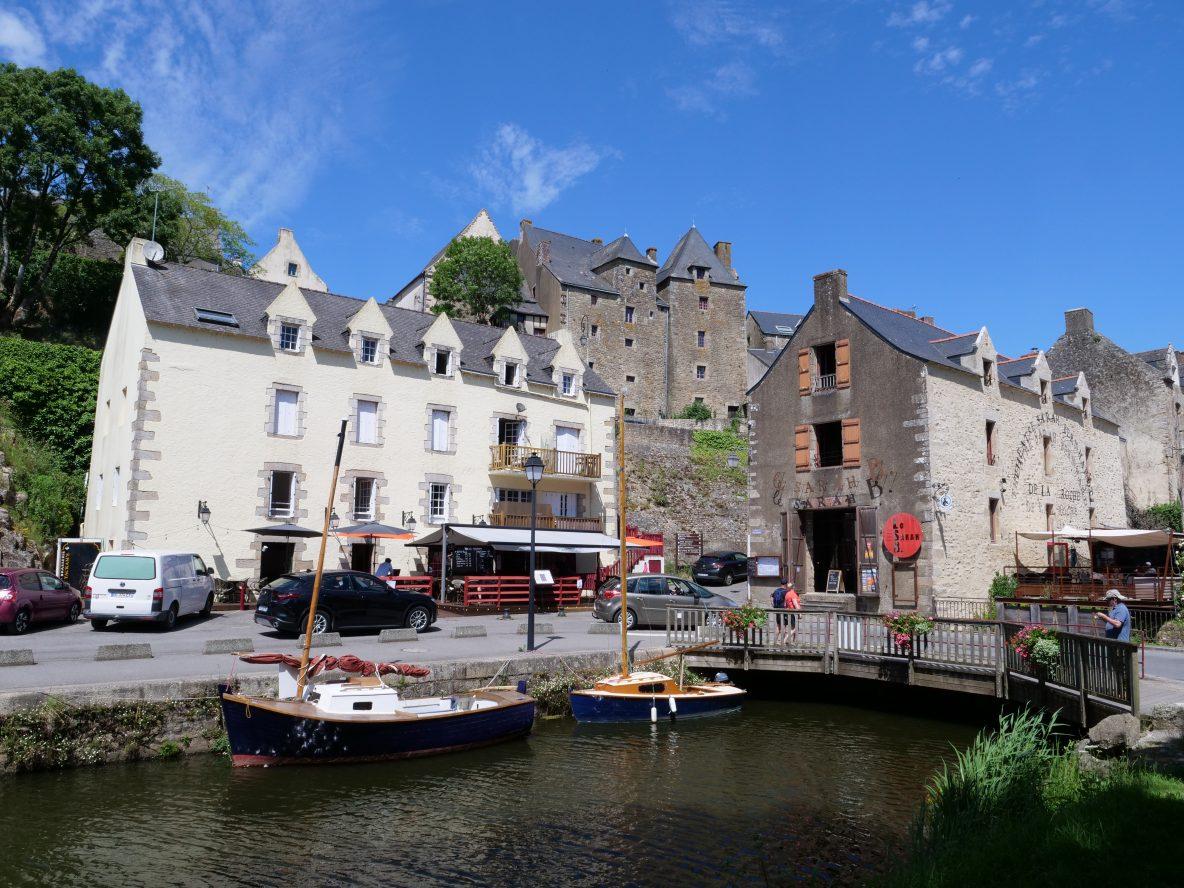 Le quai Saint-Antoine du port de la Roche-Bernard