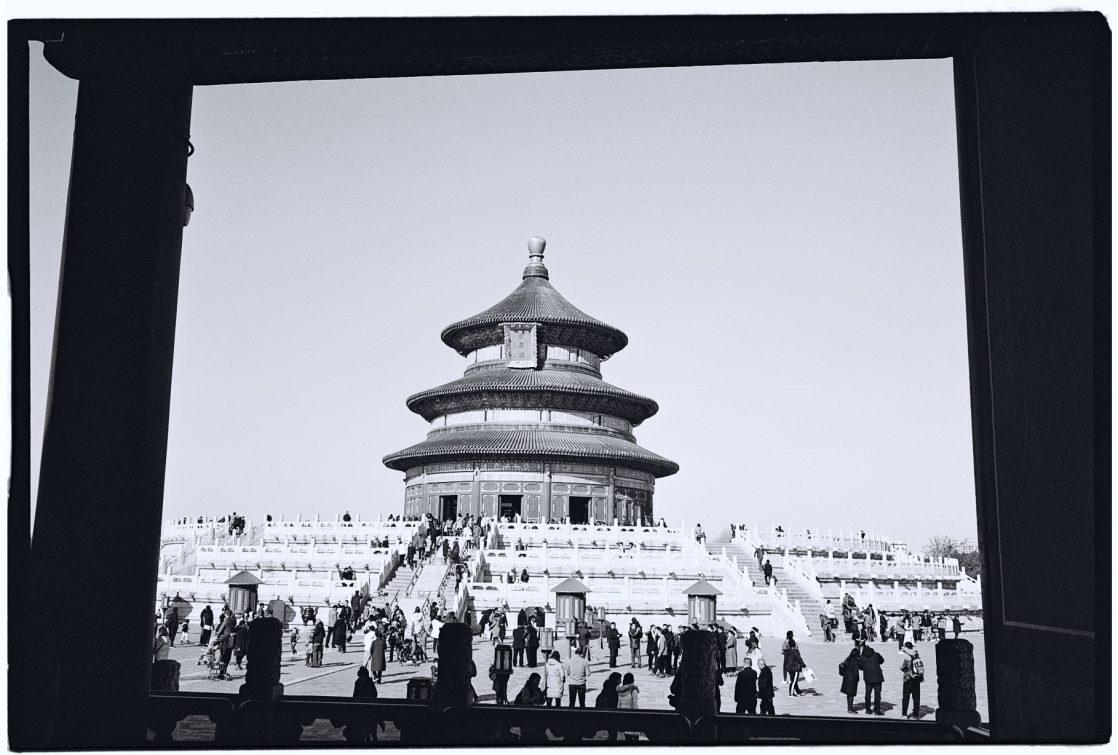 Le temple du ciel, l'un des plus beaux temples de Pékin