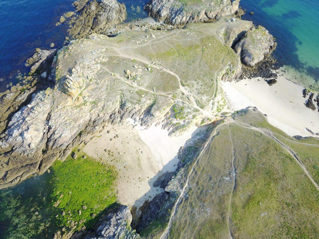 L'île de Hoëdic dans le Morbihan
