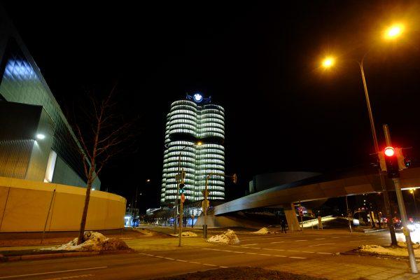 Munich pendant la nuit