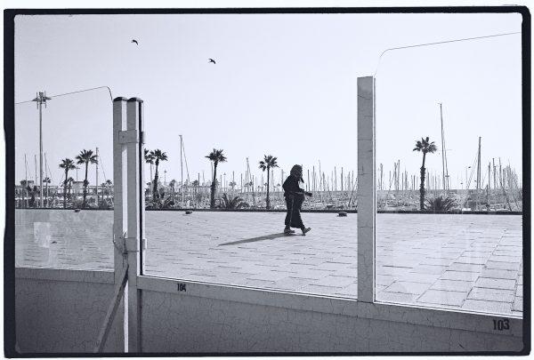 Scène de vie à Barcelone