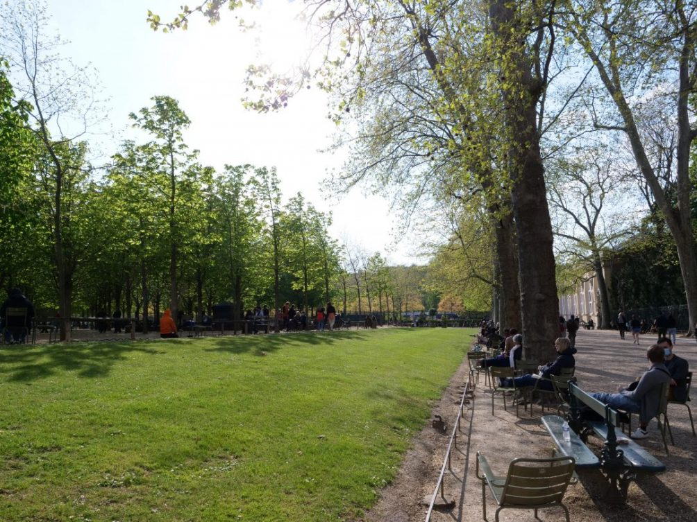 Un espace vert en plein Paris