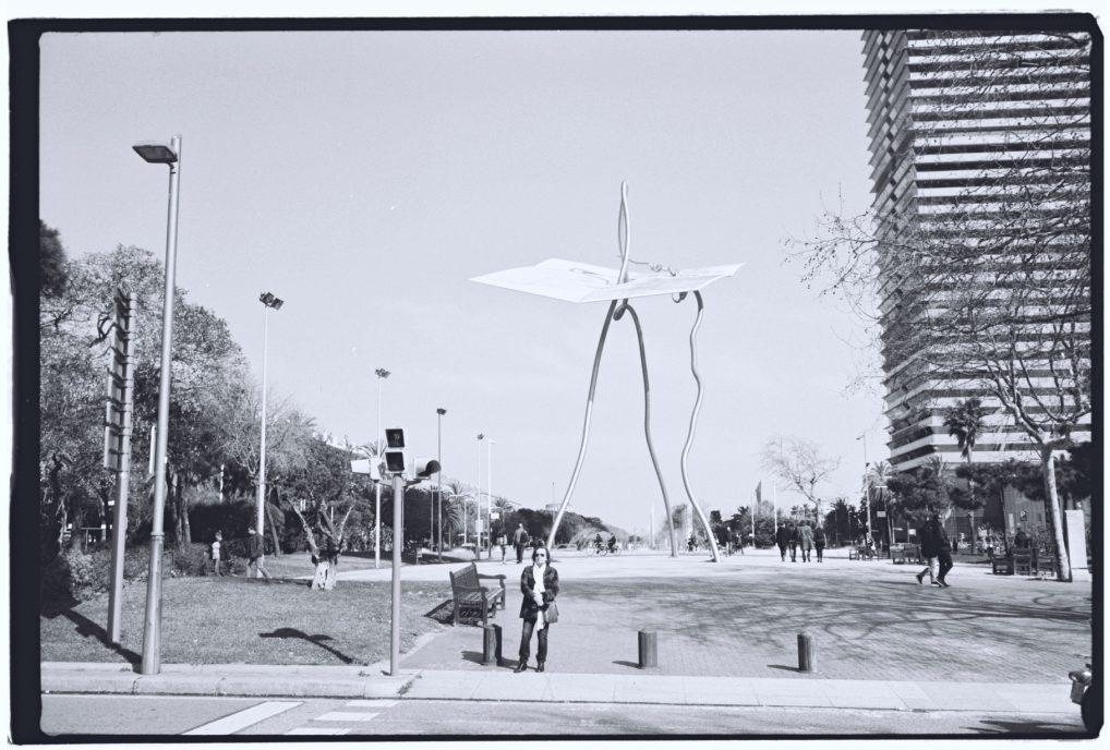 Une structure étrange et controversée à Barcelone