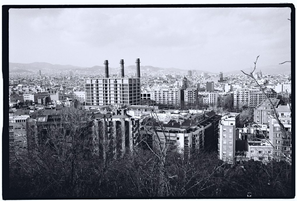 Une vue depuis Montjuic