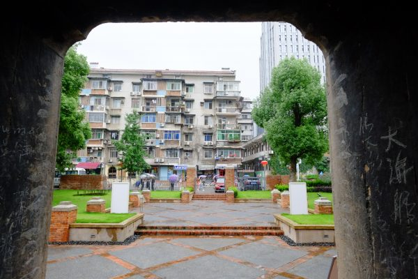 Wuhan sous la pluie
