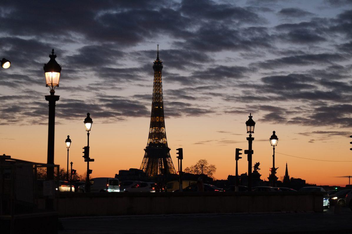La place de la Concorde, l'un des meilleurs endroits pour admirer un coucher de soleil à Paris