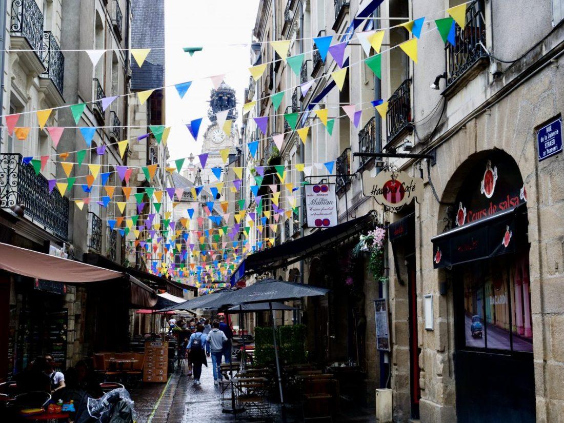 La rue de la Juiverie, l'une des plus belles rues de Nantes