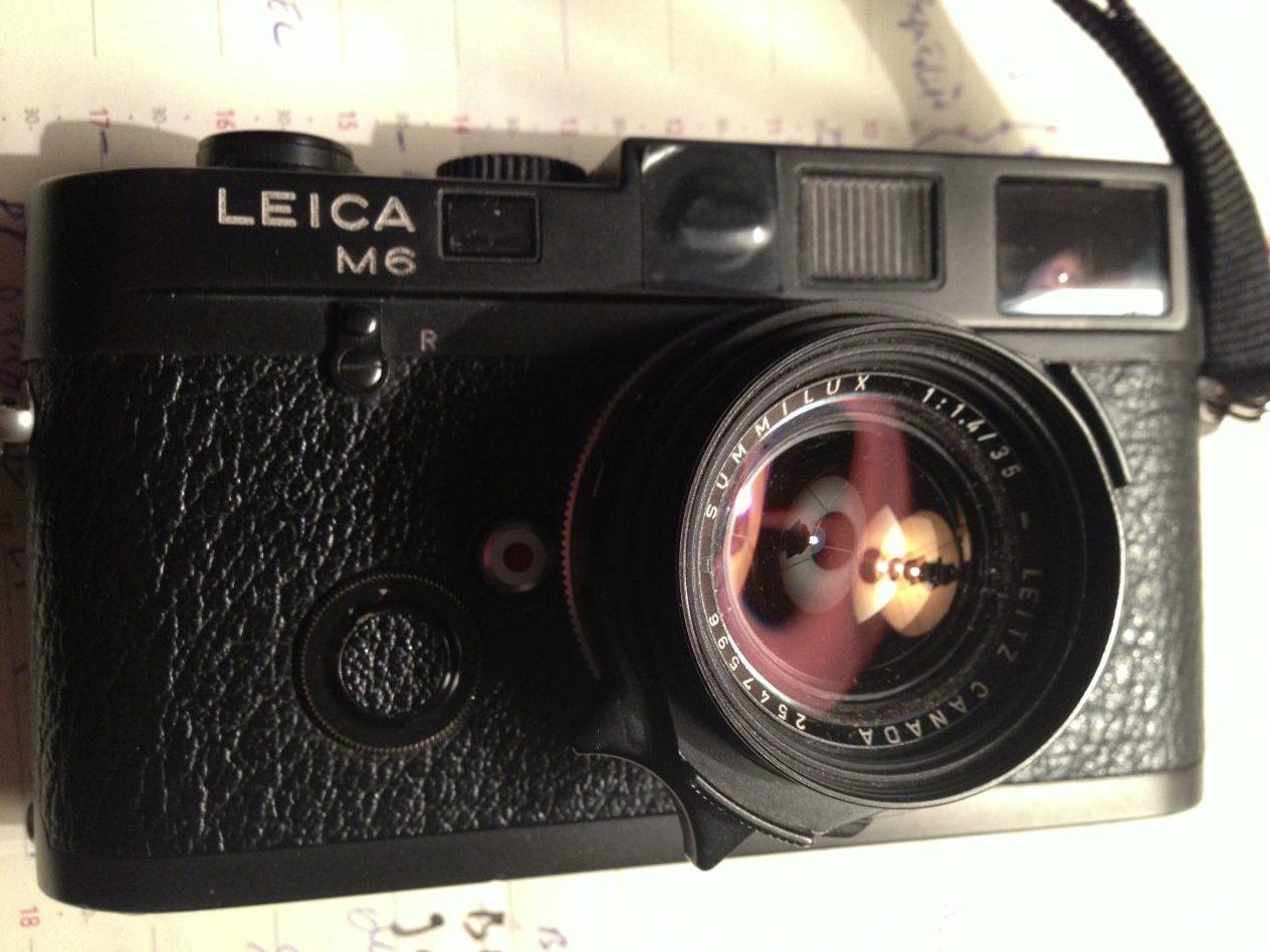 Le Leica M6 le grand gagnant de la photographie argentique