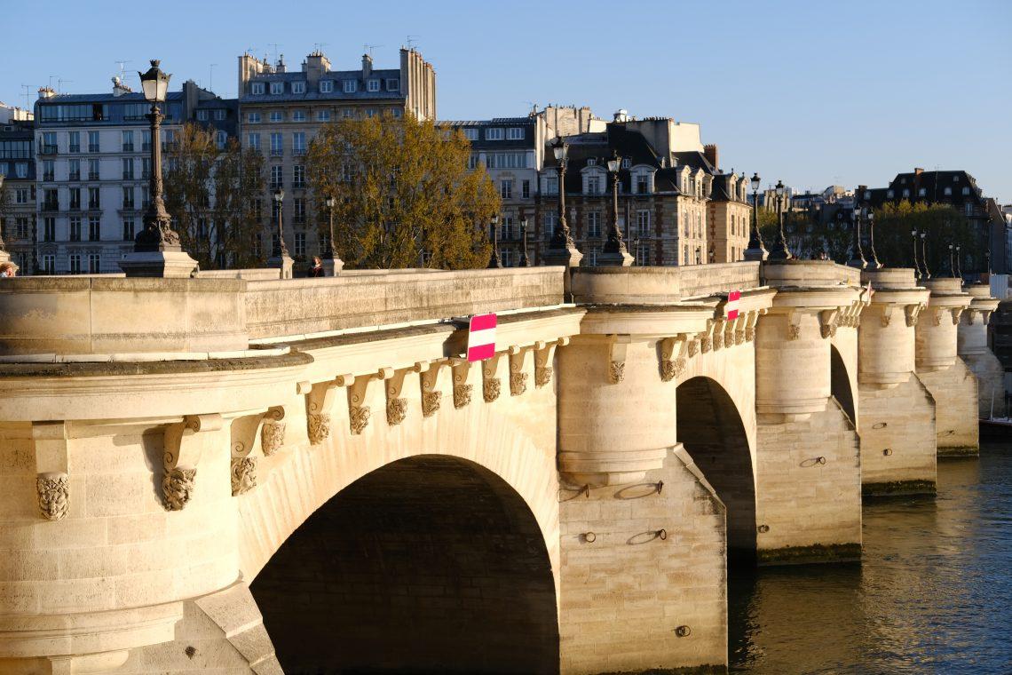 Le Pont Neuf, le pont le plus ancien de Paris