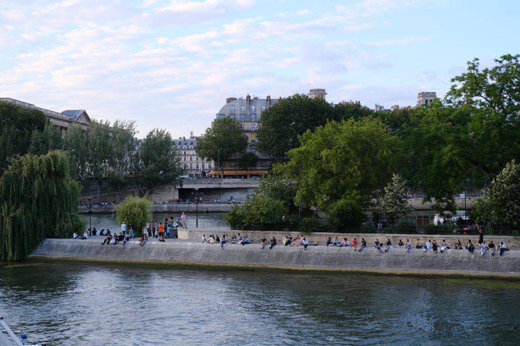 Le Square du Vert-Galant, l'une des choses à faire sur l'île de la Cité