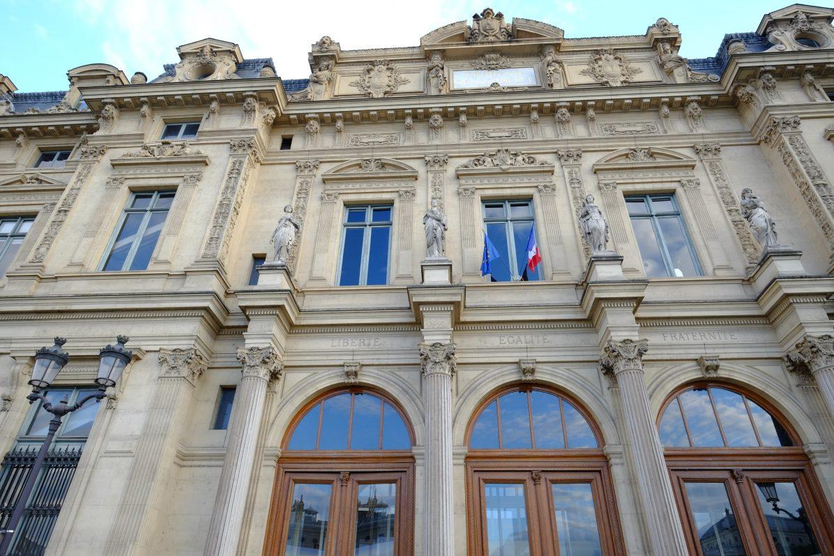 Le Tribunal de Commerce de Paris sur l'île de la Cité