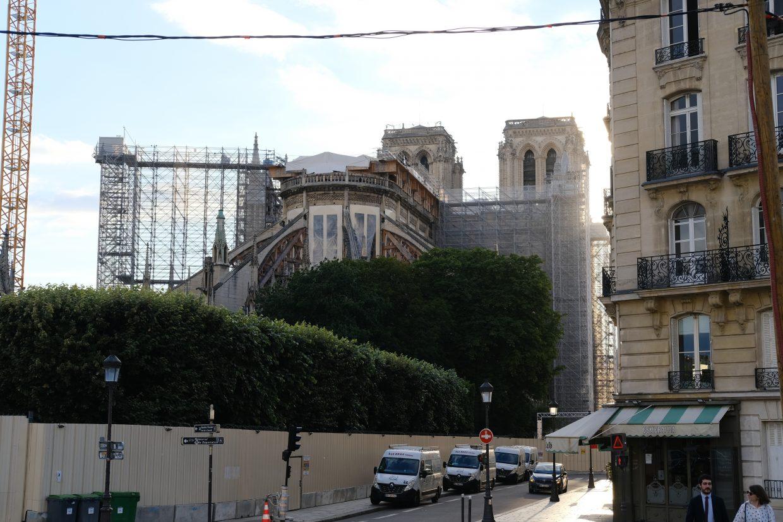 Le chantier de Notre Dame immobile pendant près de 2 ans