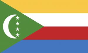 Le drapeau des Comores