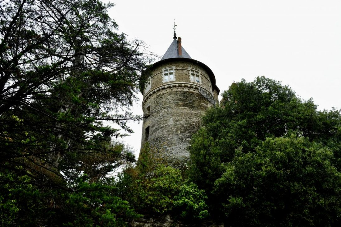 L'une des tours du château de Pornic