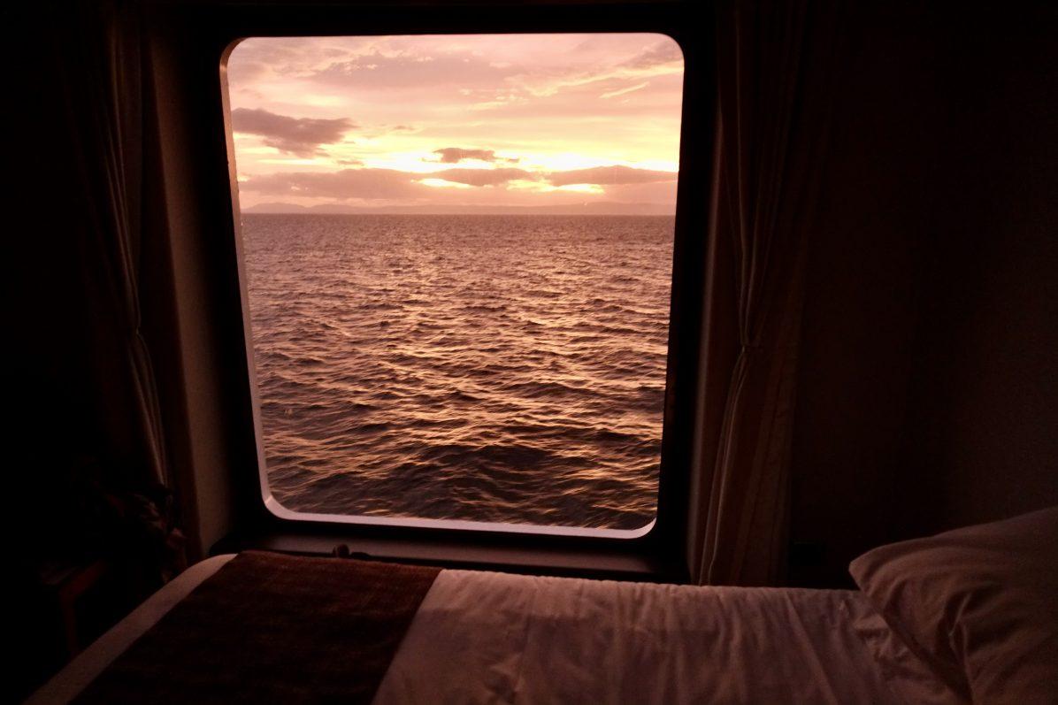 A bord du Stella Australis dans les eaux du Chili