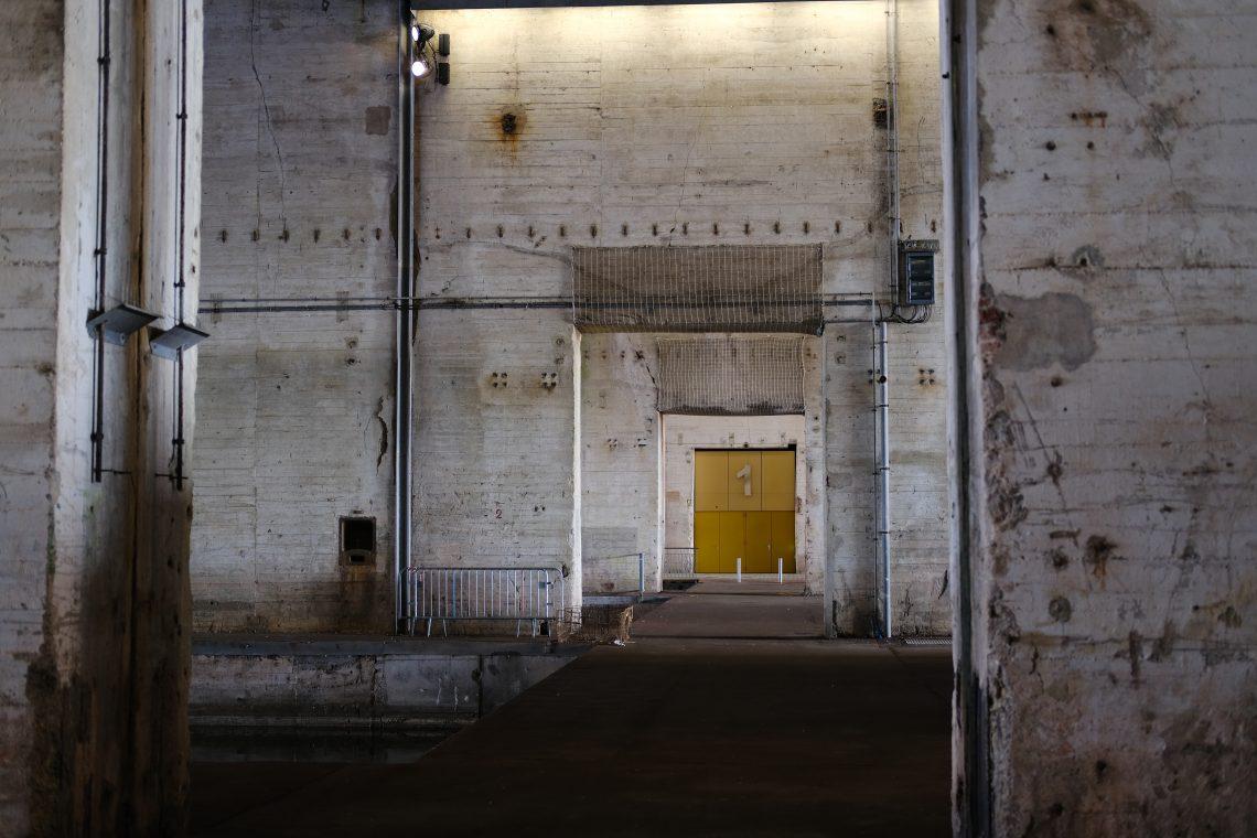 Dans les coulisses insolites de la base de sous-marin de Saint-Nazaire