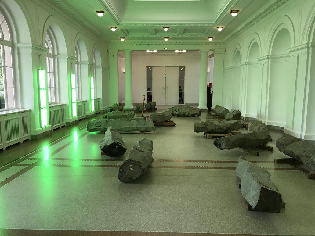 La visite d'Hauptbanof, un musée contemporain à Berlin