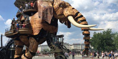 L'éléphant du Voyage à Nantes
