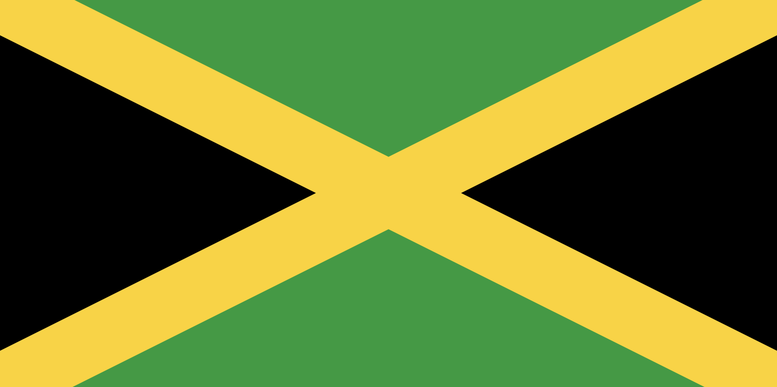 Le drapeau de la Jamaïque