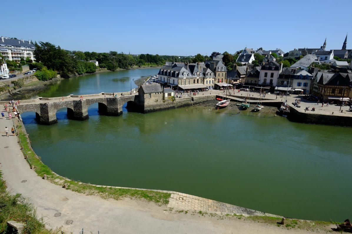 Le petit port de Saint-Goustan à Auray