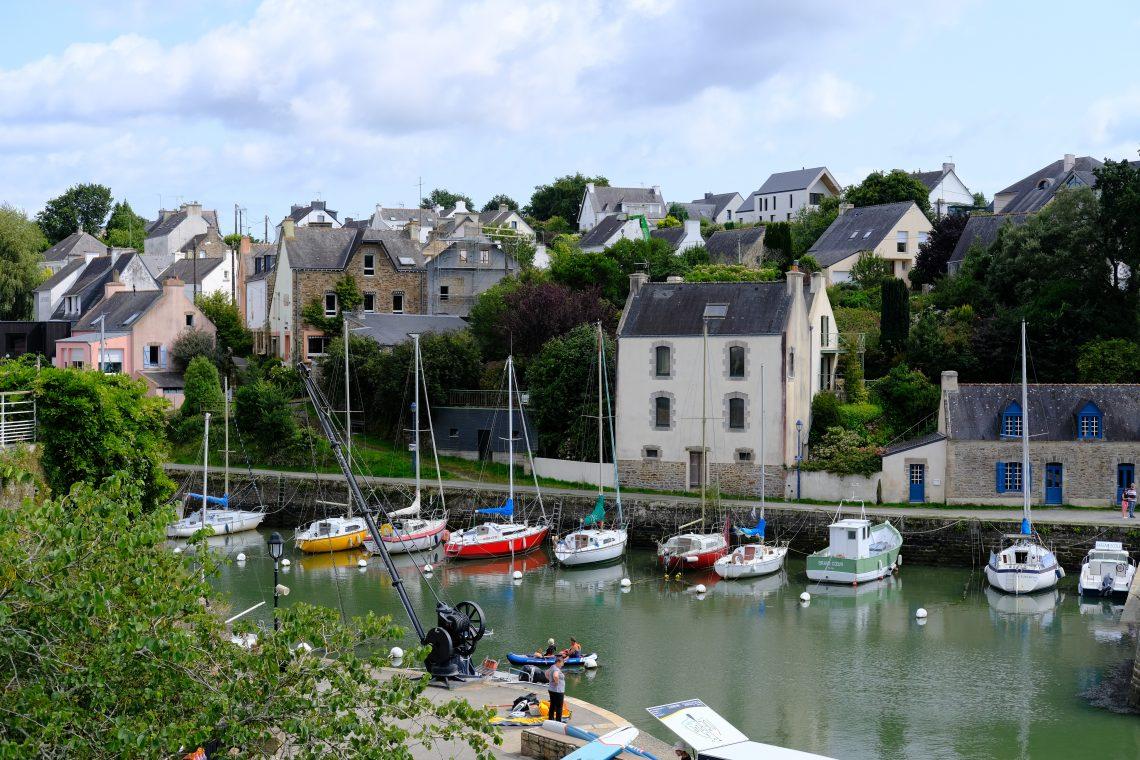 Le petit port secret du Bono dans le golfe du Morbihan