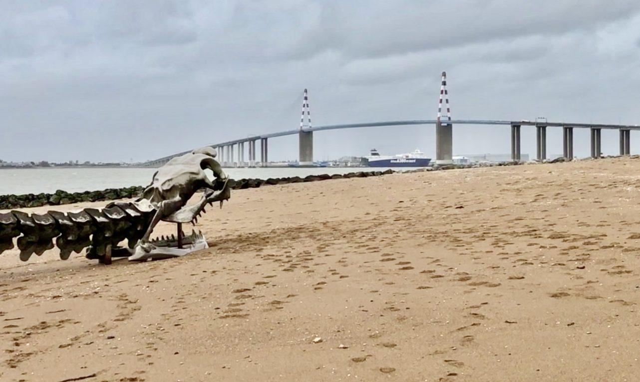 Le serpent d'Océan et le pont de Saint-Nazaire