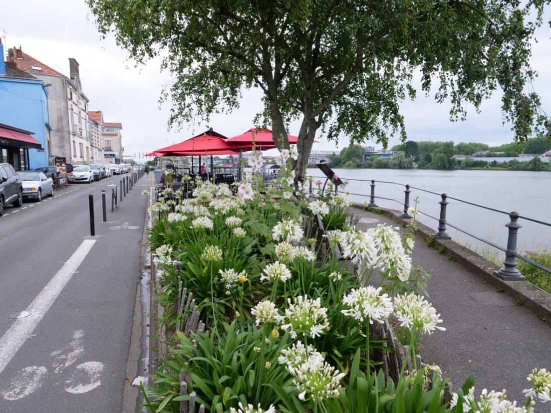 Les bords de Loire et la petite cité de Trentemoult