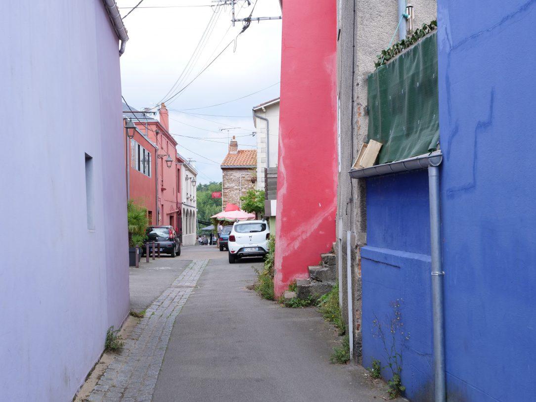 Les petites rues et les maisons colorées de Trentemoult