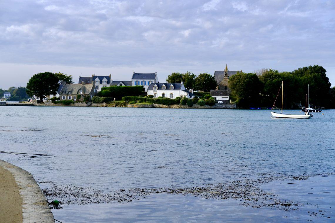 L'île de Saint-Cado sur la commune de Belz