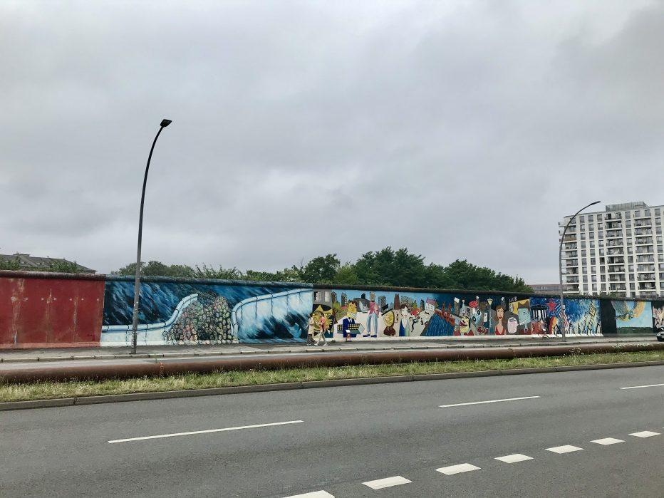 Eassidegallery, un des nombreux spots de street art à Berlin