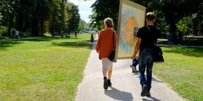 Balade insolite dans le parc de la Colombière à Dijon