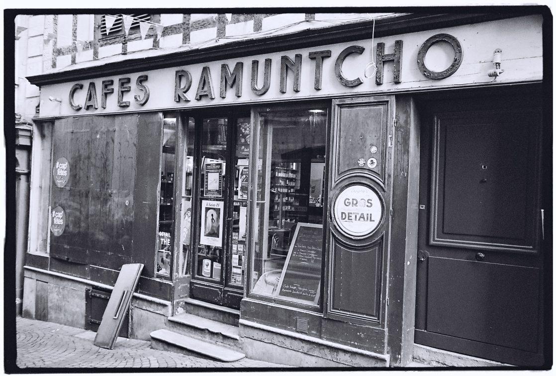 Café Ramuntcho une institution de la capitale basque