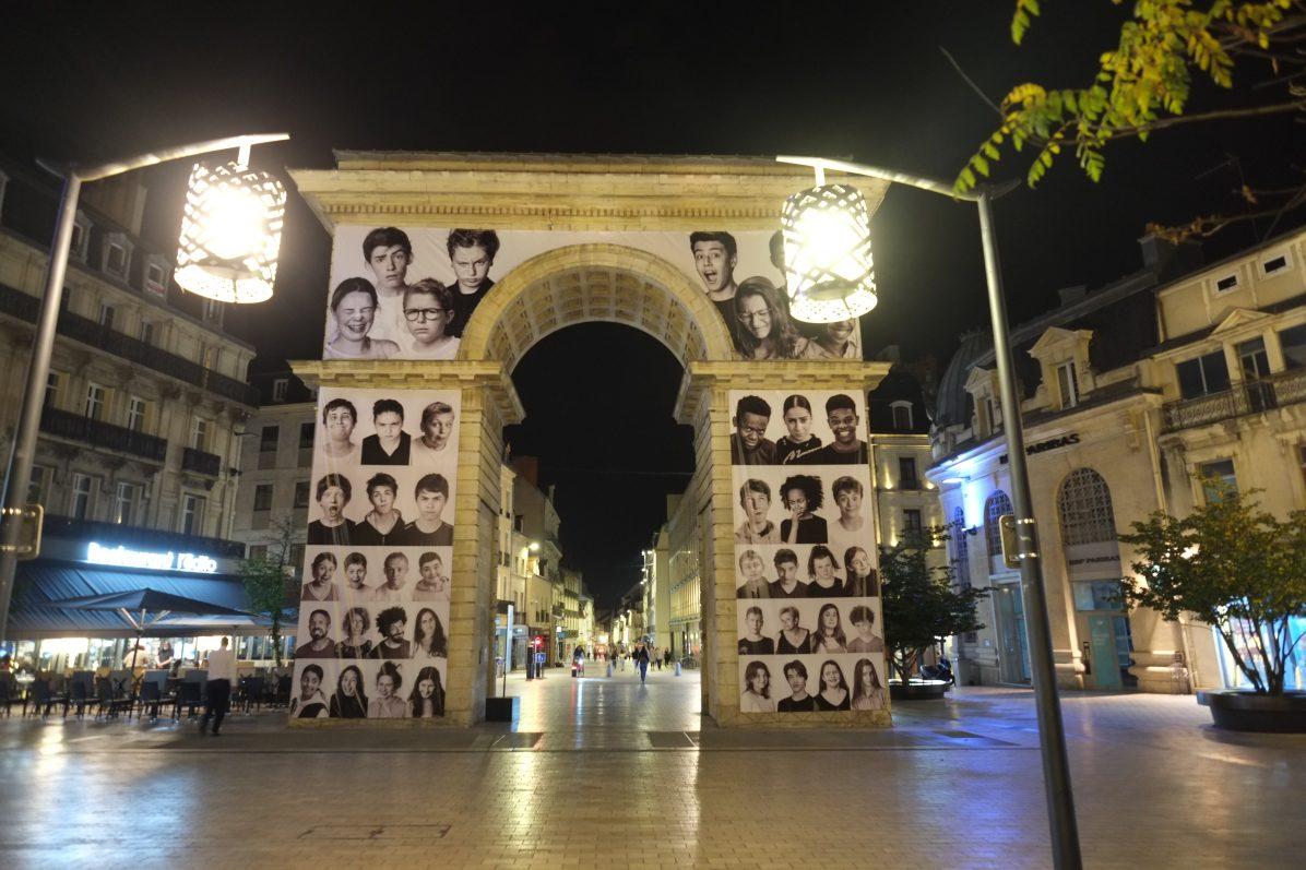 L'Arc de Triomphe à Dijon, la porte Guillaume